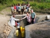 Another community receive clean water