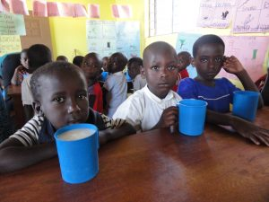 All our children receive porridge