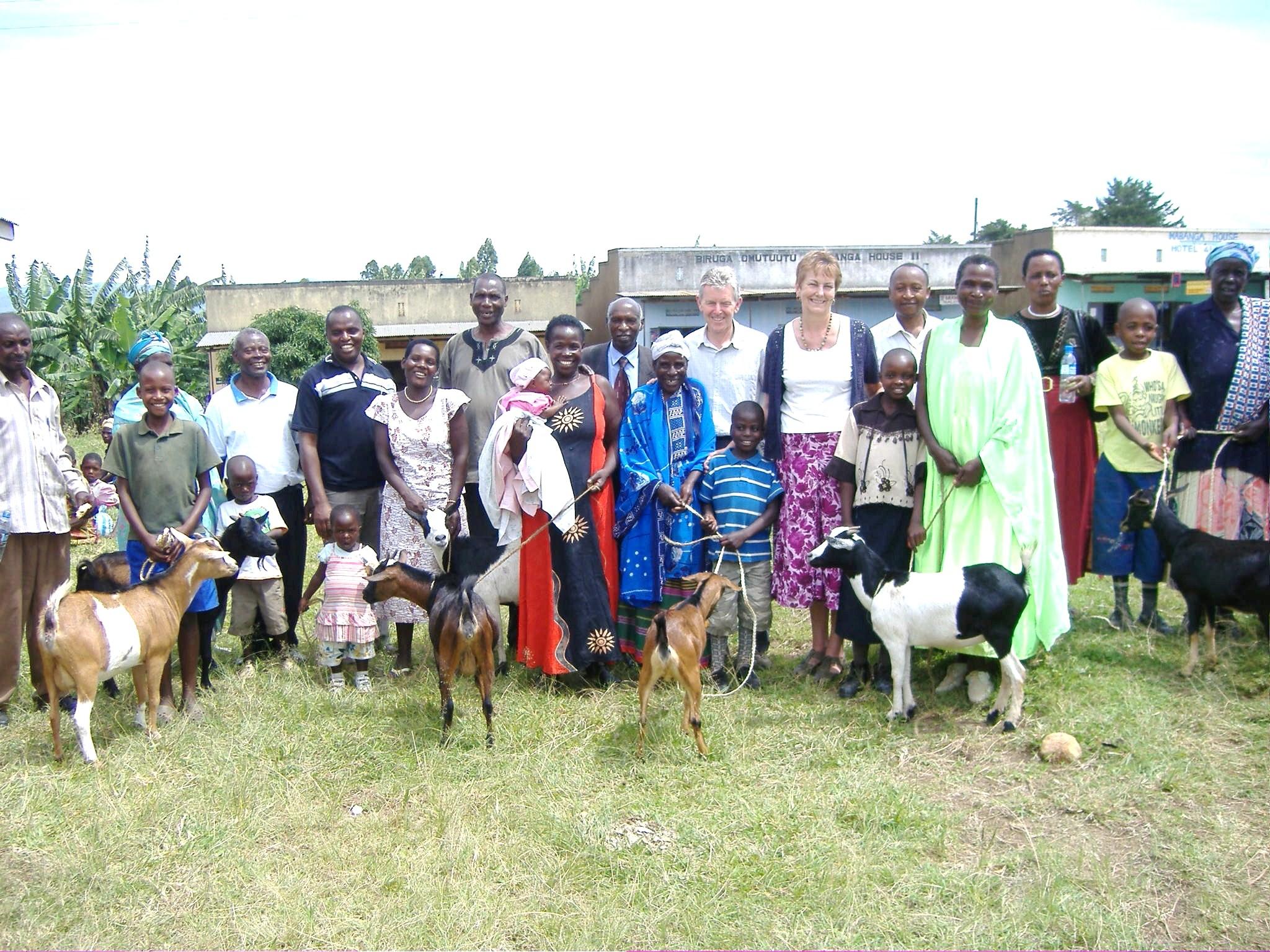 Receiving a Goat