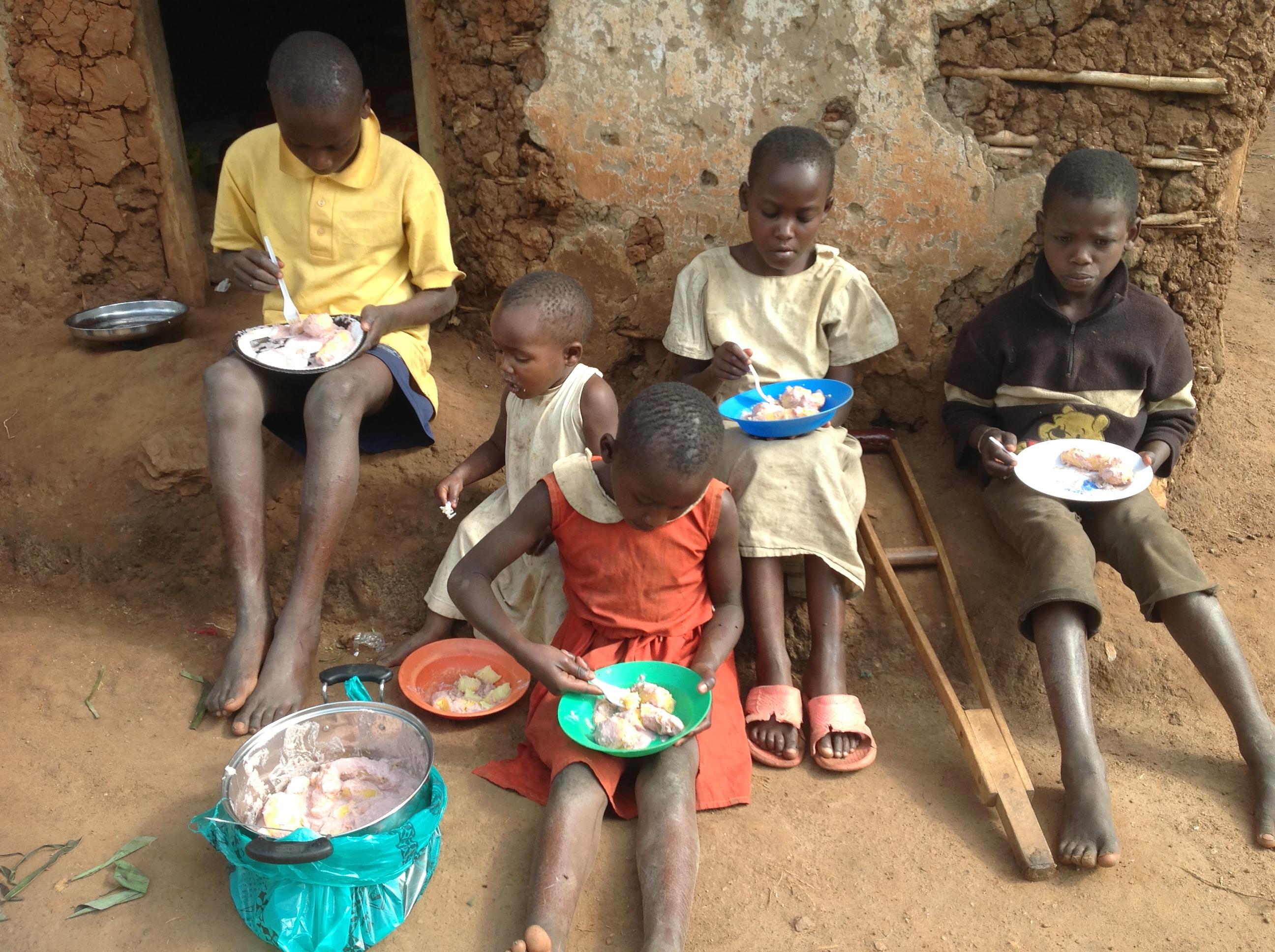 Feeding Five Children