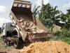 Building Materials Arrive