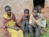 Elderly Grandma caring for orphans